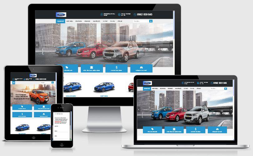 Thiết kế website cho thuê xe ô tô tại Hà Nam chuẩn SEO giá rẻ