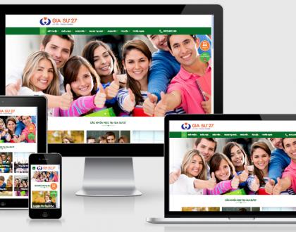 Thiết kế web Giáo dục - Trường học tại Hà Nam chuyên nghiệp