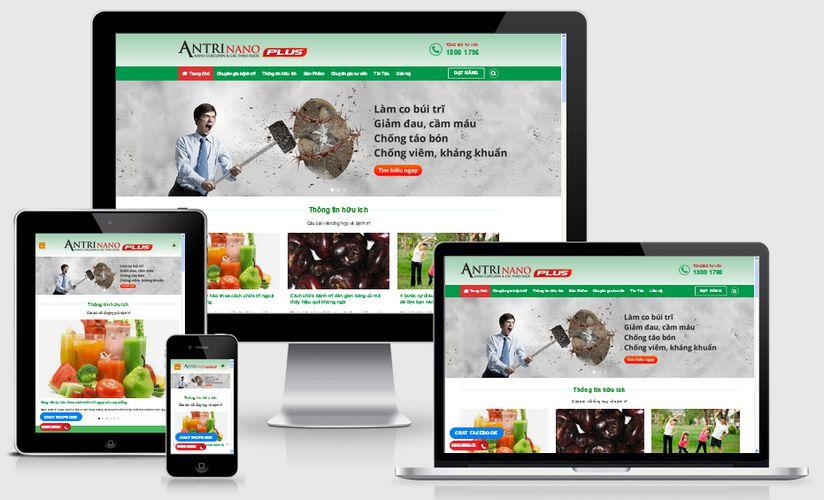 Thiết kế web giới thiệu công ty tại Hà Nam chuẩn SEO chuẩn mobile