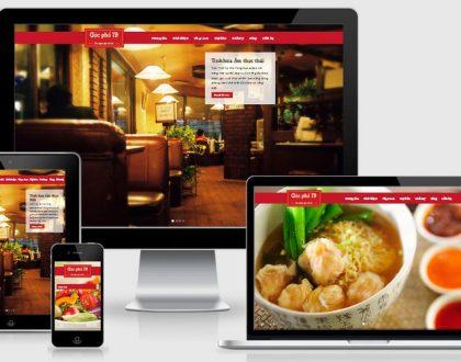Thiết kế website nhà hàng tại Hà Nam chuyên nghiệp chuẩn SEO