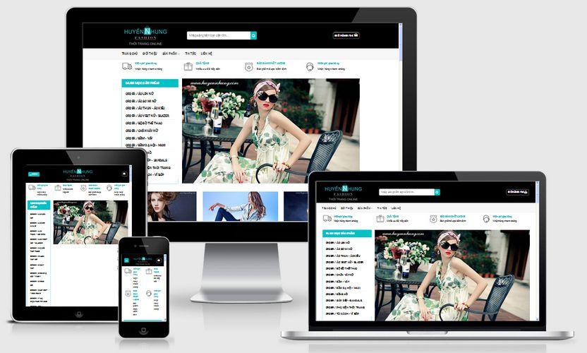 Thiết kế website thời trang tại Hà Nam chuyên nghiệp chuẩn SEO