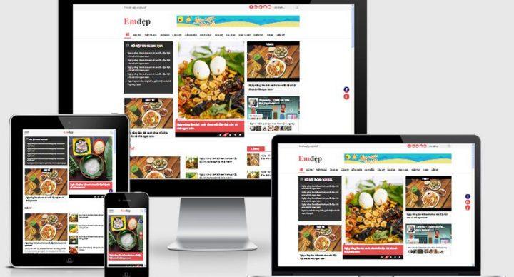 Thiết kế website tin tức tại Hà Nam chuẩn SEO chuẩn mobile
